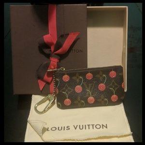 Louis Vuitton Limited Ed Cerises Cherries Key Cles